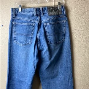Vintage lucky brand jeans size 32 lowrise bootleg
